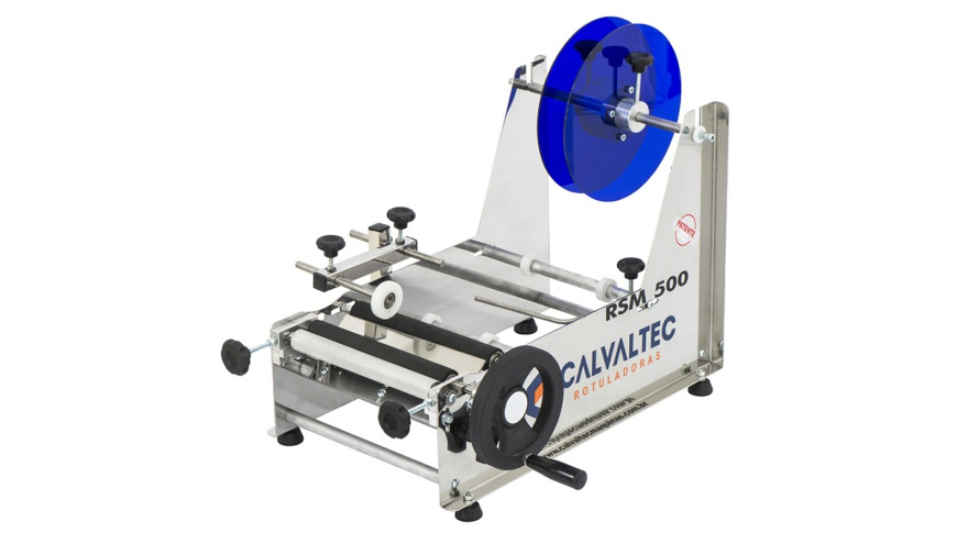 Rotuladora Semimanual RSM 500 - Calvaltec Rotuladoras